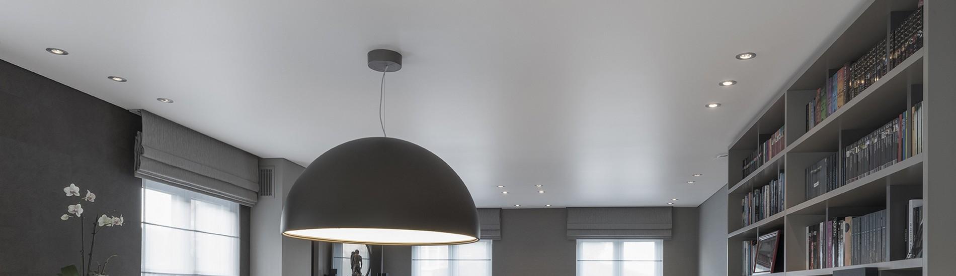 Plafond tendu mat